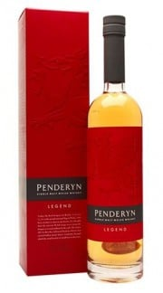 "Single Malt Welsh Whisky ""Legend"" PENDERYN DISTILLERY 70 Cl Astuccio"