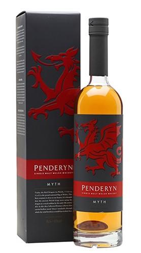 Single Malt Welsh Whisky Penderyn Myth PENDERYN DISTILLERY 70 Cl Astuccio