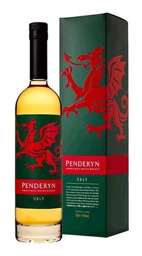 "Single Malt Welsh Whisky ""Celt"" PENDERYN DISTILLERY 70 Cl Astuccio"