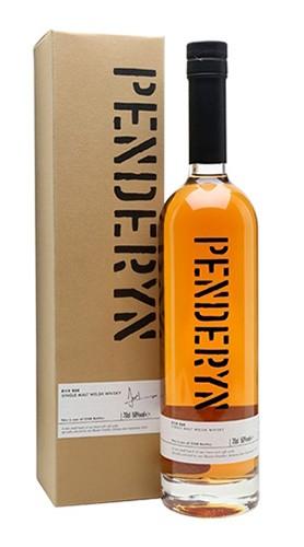 """Single Malt Welsh Whisky """"Rich Oak bottled"""" PENDERYN DISTILLERY 70 Cl Astuccio"""