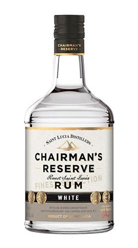 "Rum ""Chairman's Reserve White"" SAINT LUCIA DISTILLERS 70 Cl"