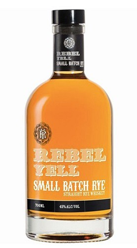 "Kentucky Straight Bourbon Whisky ""Small Batch Rye"" REBEL YELL 70 Cl"