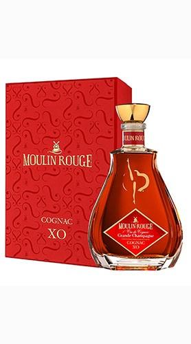 """Cognac """"Moulin Rouge"""" X.O. COGNAC JEAN FILLIOUX 70 Cl Astuccio Lusso"""