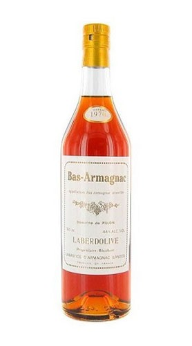 "Bas Armagnac ""Domaine Pillon"" DOMAINE LABERDOLIVE 1970 70 Cl Astuccio"