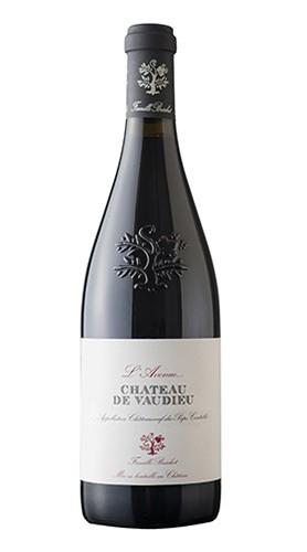 """Chateau De Vaudieu Rouge """"L'Avenue De Vaudieu"""" Famille Bréchet 2015 75 Cl"""