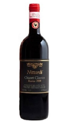 """Chianti Classico """"Riserva selezionata"""" NITTARDI 2013 75 Cl"""