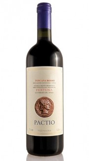 "Toscana Rosso IGT ""Pactio"" TENUTA FERTUNA 2015 Magnum"