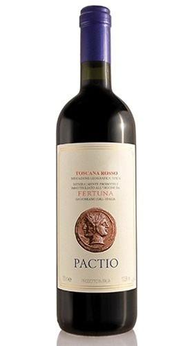 """Toscana Rosso IGT """"Pactio"""" TENUTA FERTUNA 2015 Magnum Box di Legno"""