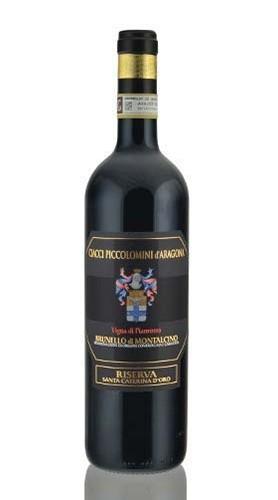 """Brunello di Montalcino Riserva Vigna di Pianrosso DOCG """"Santa Caterina d'oro"""" CIACCI PICCOLOMINI 2012 - 75 Cl"""
