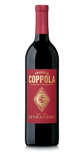 """California Zinfandel """"Diamond Collection Red Label"""" FRANCIS FORD COPPOLA WINERY 2016 - 75 Cl"""