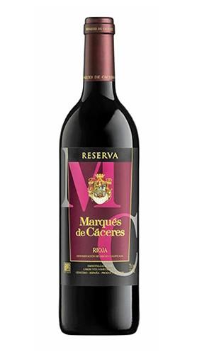 Marqués de Cáceres Reserva Rioja MARQUES DE CACERES 2012 - 75 Cl
