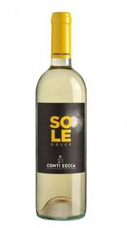 """""""Sole"""" Malvasia Bianca 2015 Conti Zecca Bottiglia CL 50"""