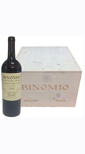 """Montepulciano d'Abruzzo Riserva DOC """"Binomio"""" La Valentina 2013 Magnum Box di Legno"""