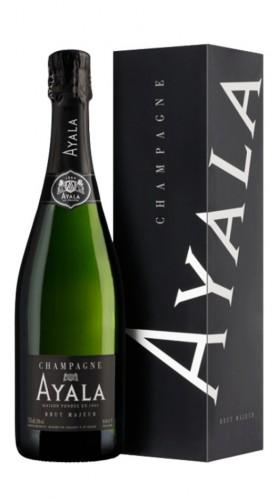 """Brut Majeur"" Champagne AOC Ayala astucciato"