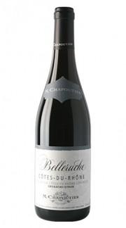 """""""Belleruche"""" Côtes du Rhône AOC Rouge Michel Chapoutier 2017"""