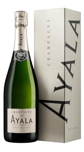 """""""Brut Nature"""" Champagne AOC Ayala Astucciato"""