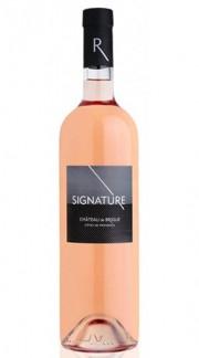 """""""Signature"""" Côtes de Provence AOC Rosé Cuvée CHÂTEAU DE BRIGUE 2017"""