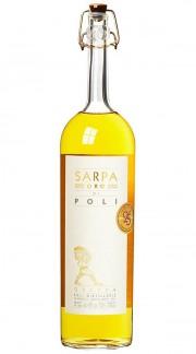 """Grappa """"Sarpa Oro"""" Jacopo Poli 70cl"""