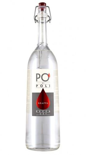 """Grappa """"PO' di Poli secca"""" Jacopo Poli 70 cl"""