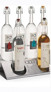 """Display Poli"" Poli Jacopo 6 Grappe 70 cl"