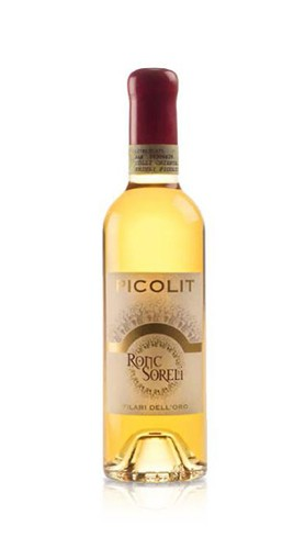 """""""Filari d'Oro"""" Colli Orientali del Friuli D.O.C.G. Picolit RONCSORELI 2010 37,5 Cl"""