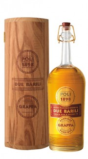 "Grappa ""Due Barili"" Poli Jacopo 70 Cl Box di Legno"