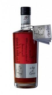 """Cognac """"Age des Épices"""" 20 Carats Gourmel Leopold 70 Cl con Confezione"""
