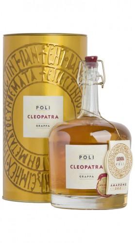 """Grappa """"Cleopatra Amarone Oro"""" Jacopo Poli Astucciata 70 cl"""