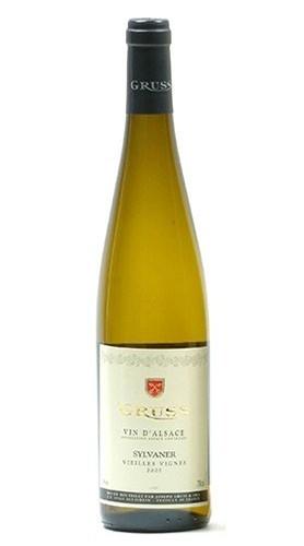 """Vieilles Vignes"" Alsace AOC Sylvaner GRUSS 2017"