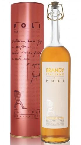 """Brandy """"Italiano di Poli"""" Jacopo Poli Astucciato 70ml"""