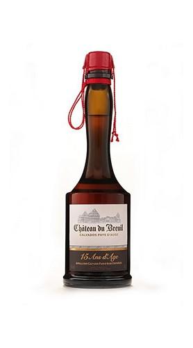 "Calvados ""15 Ans d'Age""Château du Breuil 2 Lt Box di Legno"