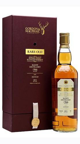 "Single Malt Scotch Whisky ""Banff Distillery Rare Old""GORDON & MACPHAIL 70 Cl Astuccio"