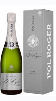 """Pure"" Champagne AOC Extra Brut Pol Roger Astucciato"