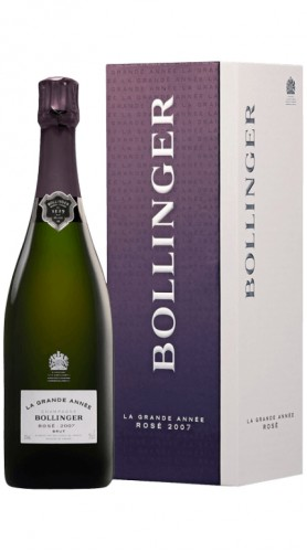 """La Grande Année"" Champagne AOC Rosé Bollinger 2007 Astucciato"