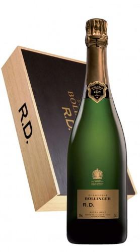 """""""R.D."""" Champagne AOC Bollinger 2004 6 Bottiglie 75 cl - box di legno"""