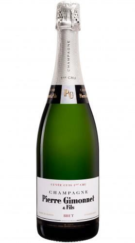 """""""Cuvée Cuis"""" Champagne AOC Pierre Gimonnet & Fils 1,5 L Astucciato"""