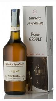 """Calvados """"Pays d'Auge"""" Roger Groult 8 Anni 70 cl Astucciato"""