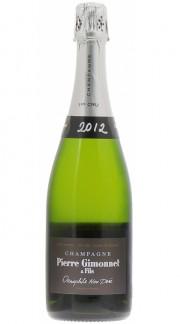 """""""Œnophile"""" Champagne AOC Pierre Gimonnet & Fils 2012"""