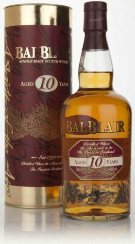 "Single Malt Scotch Whisky ""Balblair 10 Y.O."" Gordon & MacPhail 70 Cl Astucciato"