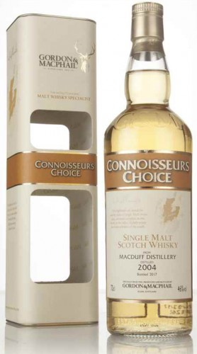 "Single Malt Scotch Whisky ""Macduff Distillery"" Gordon & MacPhail 2004 70 Cl Astucciato"