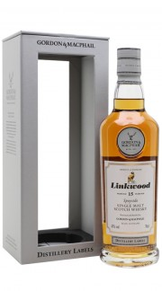 "Speyside Single Malt Scotch Whisky ""Linkwood 15 Y.O."" Gordon & MacPhail 70 cl Astucciato"