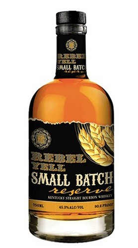 """Kentucky Straight Bourbon Whisky """"Small Batch Reserve"""" REBEL YELL 70 Cl con Confezione"""