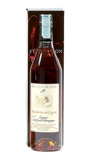 Liqueur au Cognac Mandarine Peyrot 70 Cl con Confezione