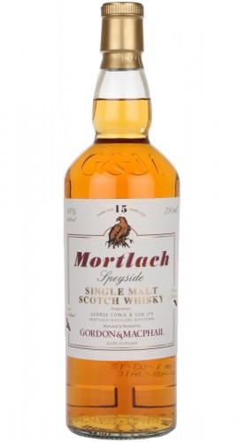 """Single Malt Scotch Whisky """"Mortlach 15 Y.O."""" Gordon & MacPhail 15 anni 70 cl"""