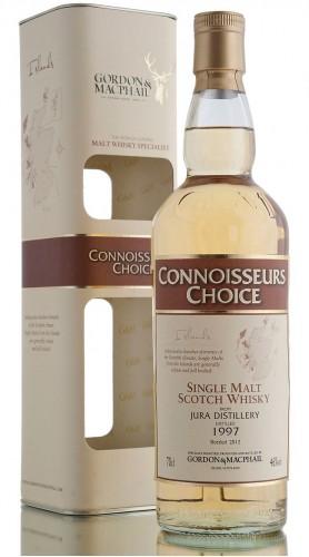 "Single Malt Scotch Whisky ""Connoisseurs Choice Jura"" Gordon & MacPhail 1997 70 cl astucciato"