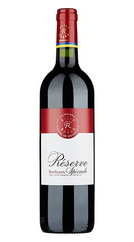 """""""Réserve Spéciale"""" Bordeaux Rouge AOC Domaines Barons de Rothschild 2016"""