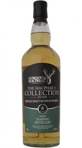 "Single Malt Scotch Whisky ""The MacPhail's Collection Tamdhu 8 Years Old"" Gordon & MacPhail 8 anni 70 cl"