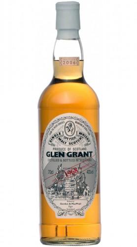 "Single Malt Scotch Whisky ""Glen Grant Rare Vintage"" Gordon & MacPhail 1968 70 cl Astucciato"