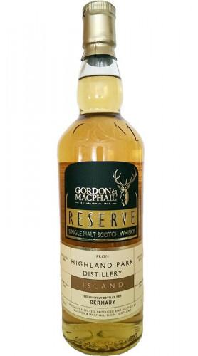 "Single Malt Scotch Whisky ""Highland Park"" Gordon & MacPhail 1990 70 cl"