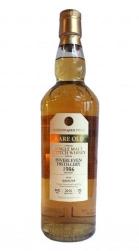 "Single Malt Scotch Whisky ""Rare Old Inverleven"" Gordon & MacPhail 1986 70"